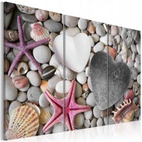 Tablou - Pebbles of love 60x40 cm