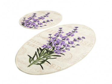Set 2 Covorase de Baie Lavender