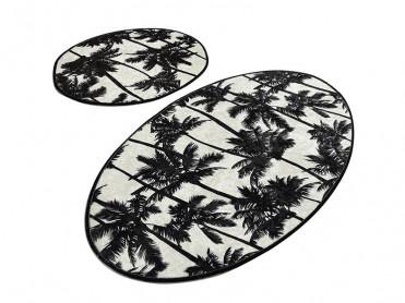 Set 2 Covorase de Baie Palm