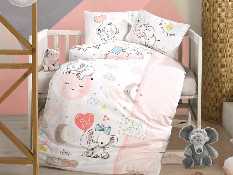 Lenjerie Patut Bebe Sweet Dreams (Bumbac 100%)