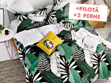 Pachet Lenjerie + Pilota + Perne Green Life (Finet)
