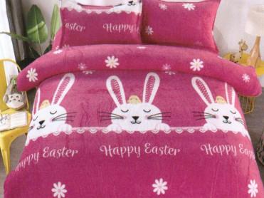 Lenjerie 1 Persoana Happy Easter (Cocolino)