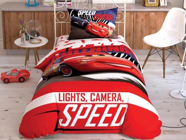 Lenjerie Copii Cars Spectator (Bumbac 100%)