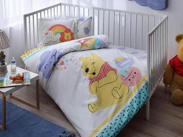 Lenjerie Patut Bebe Winnie the Pooh Hunny (Bumbac 100%)