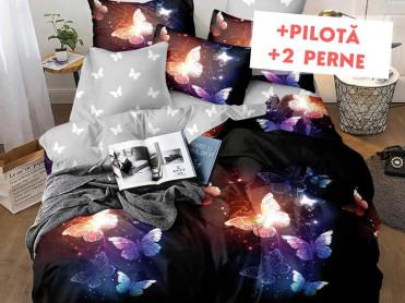 Pachet Lenjerie + Pilota + Perne Light (Finet)
