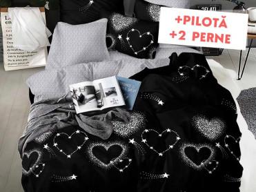Pachet Lenjerie + Pilota + Perne Love Star (Finet)