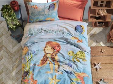 Lenjerie Copii Mermaid (Bumbac 100%)