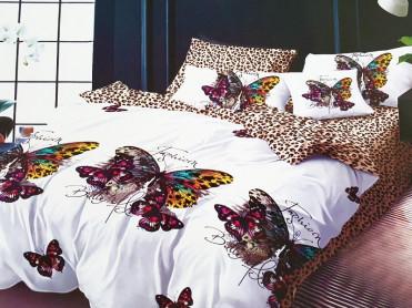 Lenjerie 1 Persoana Fashion Butterfly (Finet)