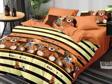 Lenjerie 1 Persoana Teddy Bear (Finet)