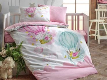 Lenjerie Patut Bebe Little Princess Cottonbox (Bumbac 100%)