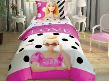 Lenjerie Copii Barbie Glitter (Bumbac 100%)