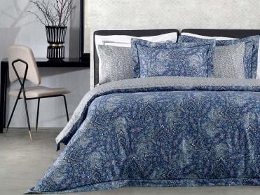 Lenjerie Victorine Blue (Bumbac Egiptean)