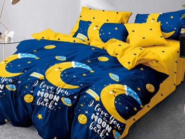 Lenjerie 1 Persoana Moon Love (Finet)