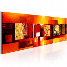 Tablou - Golden Spell 135x45 cm
