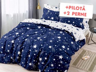 Pachet Lenjerie + Pilota + Perne Asteroid (Finet)