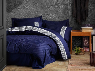 Lenjerie Brilliant Navy (Satin Deluxe)