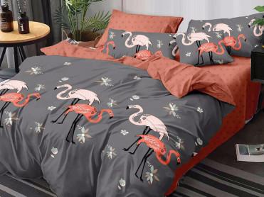 Lenjerie Flamingos 6 Piese (Finet)