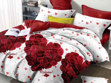 Lenjerie Valentine Rose 6 Piese (Finet)