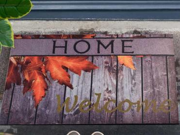 Covoras Intrare Autumn, 45x70 cm, Cauciucat