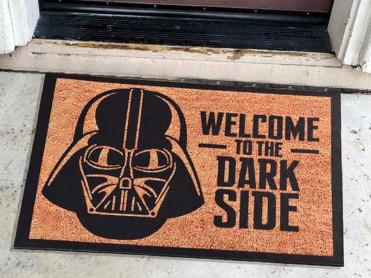 Covoras Intrare Dark Side, 45x70 cm, Cauciucat