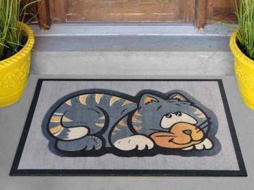Covoras Intrare Gatto, 45x70 cm, Cauciucat