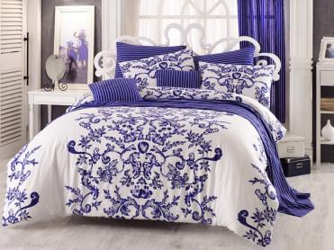 Lenjerie Royal Blue (Bumbac 100%)