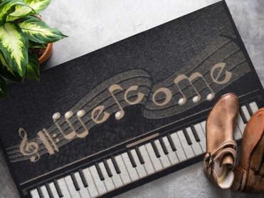 Covoras Intrare Piano, 45x70 cm, Cauciucat