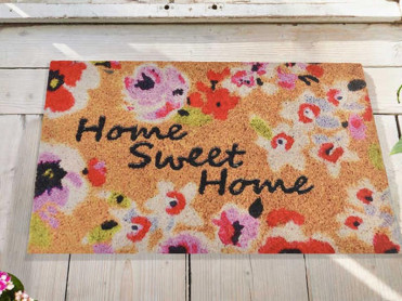 Covoras Intrare Sweet Home, 45x70 cm, Cauciucat