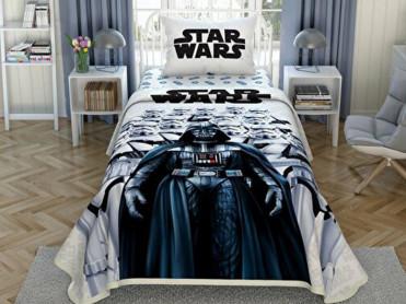 Lenjerie si Cuvertura Copii Star Wars Dark Side (Bumbac 100%)