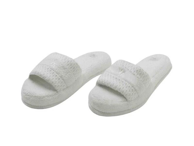 Papuci de Casa Valeron Crem, Marime 35-40 (Bumbac 100%)