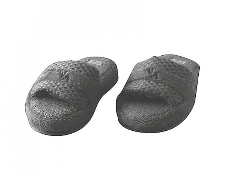 Papuci de Casa Valeron Antracit, Marime 35-40 (Bumbac 100%)