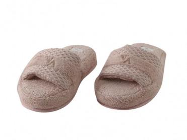 Papuci de Casa Valeron Mink, Marime 35-40 (Bumbac 100%)