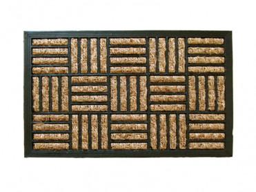 Covoras Intrare Grid, 40x60 cm, Fibre de Cocos