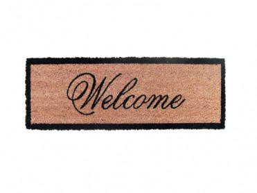 Covoras Intrare Welcome 25x75 cm, Fibre de Cocos