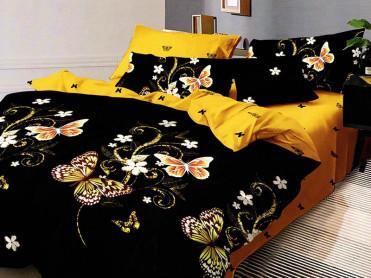 Lenjerie Dark Butterfly (Bumbac Satinat)