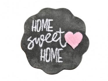 Covoras de Baie Home Sweet Home Fume (Acryl)