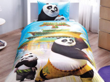 Lenjerie Copii Kung Fu Panda Movie (Bumbac 100%)