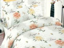Lenjerie Floral Peach DELUXE Pucioasa (Bumbac 100%)