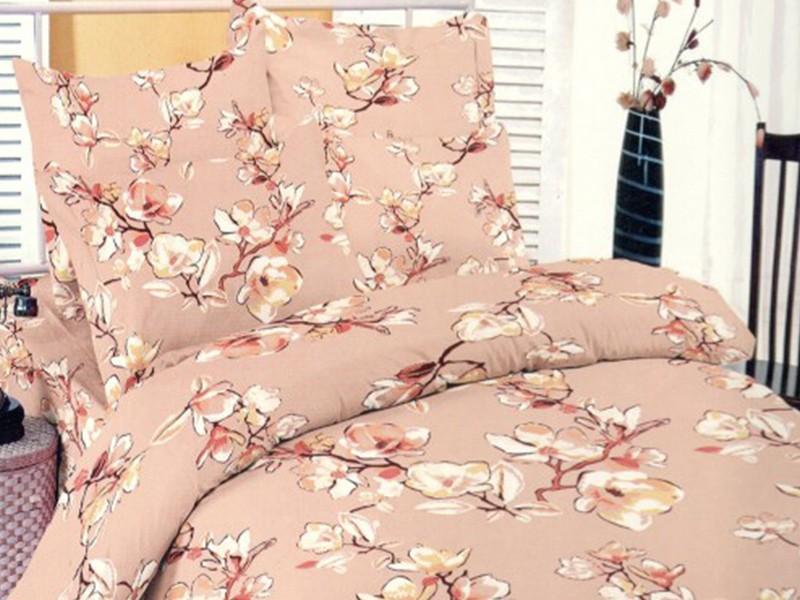 Lenjerie Magnolia Somon DELUXE Pucioasa (Bumbac 100%)