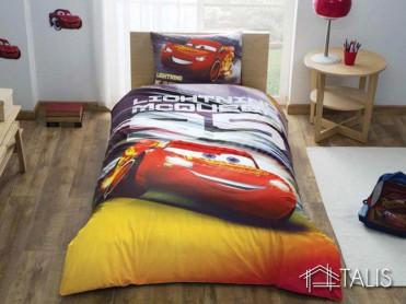 Lenjerie Cars Lightning McQueen (Bumbac 100%)