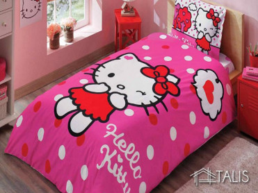 Lenjerie Hello Kitty Pink (Bumbac 100%)