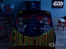 Lenjerie Star Wars Glow (Bumbac 100%)
