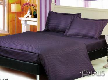 Lenjerie cu elastic 160x200cm Irissa Indigo (Bumbac 100%)