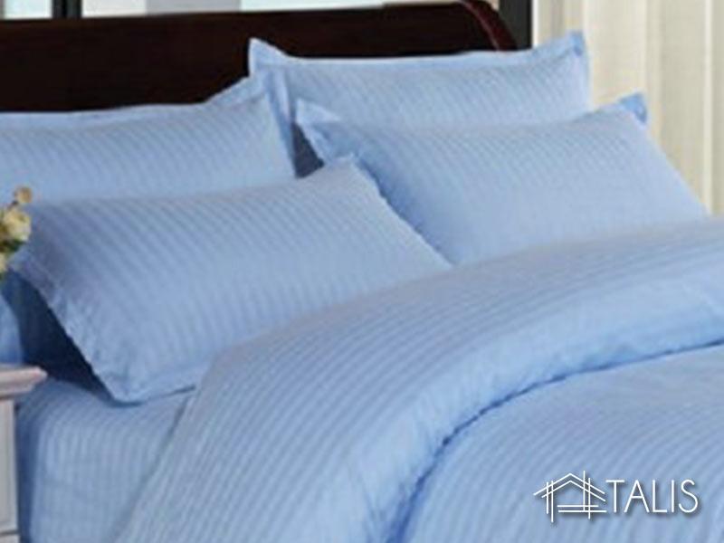 Set 2 Fete de Perna 70x70cm Irissa Bleu (Bumbac 100%)