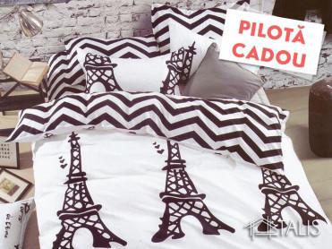 Lenjerie + Pilota Parisianne (Bumbac Satinat)