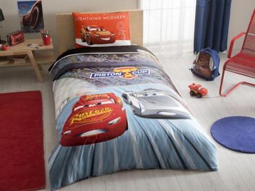 Lenjerie Cars Piston Cup (Bumbac 100%)