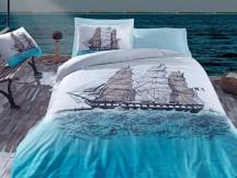 Lenjerie Ship Albastra (Bumbac 100%)