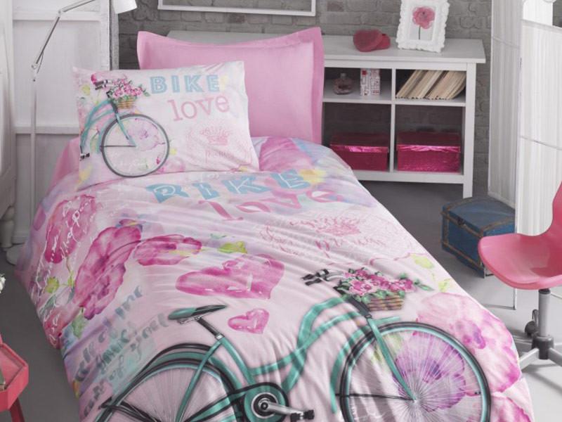 Lenjerie Copii Bike Roz (Bumbac 100%)