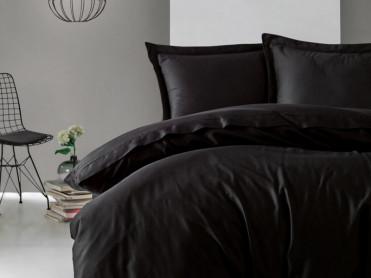 Lenjerie Elegant Negru (Satin Deluxe)