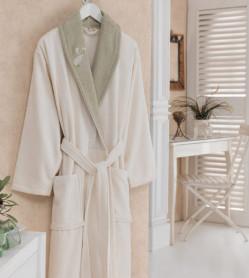 Halat de baie pentru ea Daily Verde (Bumbac 100%)